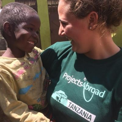 Christina D in Tanzania